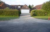 Permeable Paving on a residential driveway